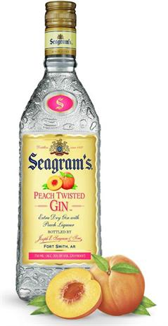 Seagrams Gin Peach Twisted